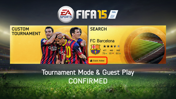 FIFA 15 Custom Tournament