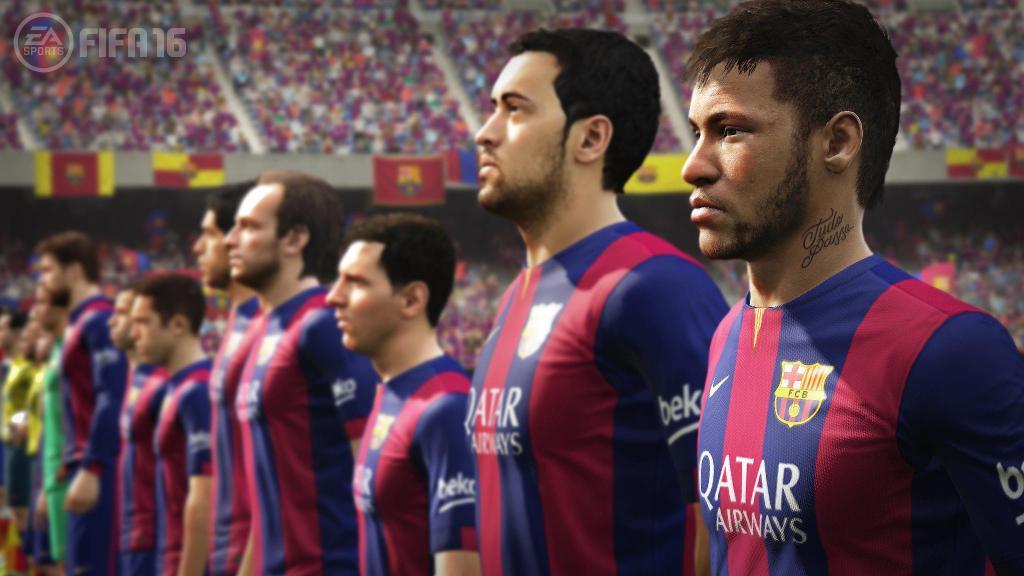 FIFA 16 Barcelona Neymar Messi