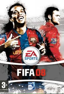 FIFA 08 Borító