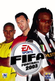 FIFA 2003 Borító