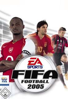 FIFA 2005 Borító