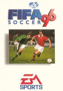 FIFA 96 Borító