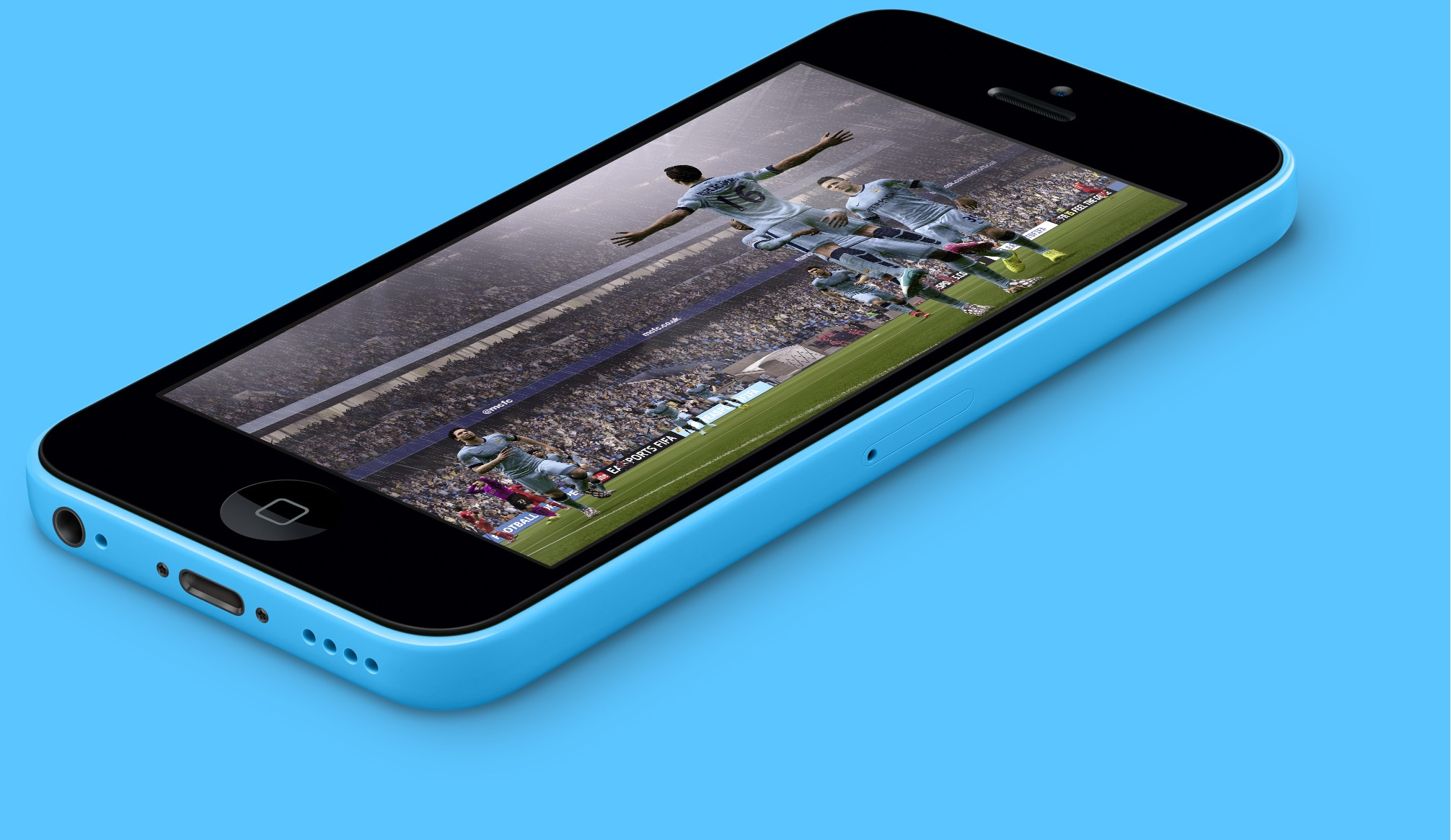 EA SPORTS FIFA Mobie on iPhone 5c