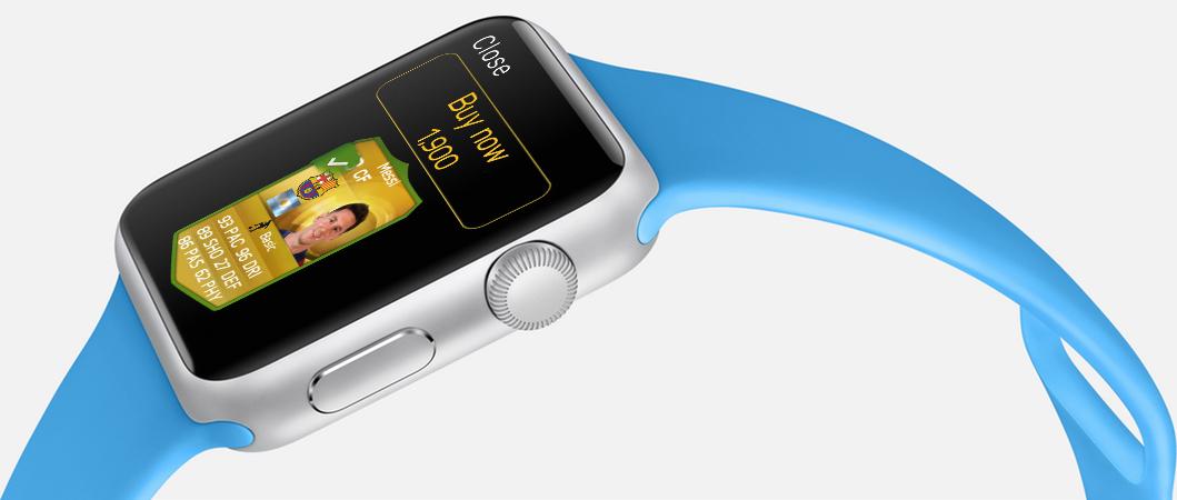 FIFA 15 on Apple Watch